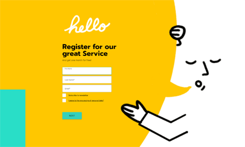 29 Registration Form Templates