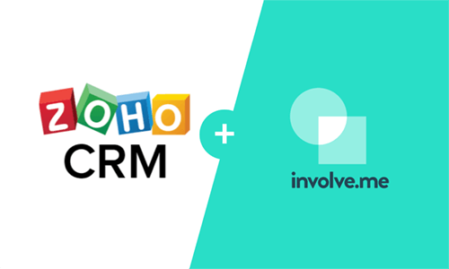 involve.me native integration with zoho