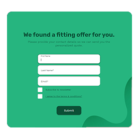 Create a personalized check out experience