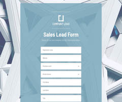 Sales Lead Form
