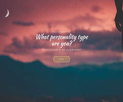 What personality type are you