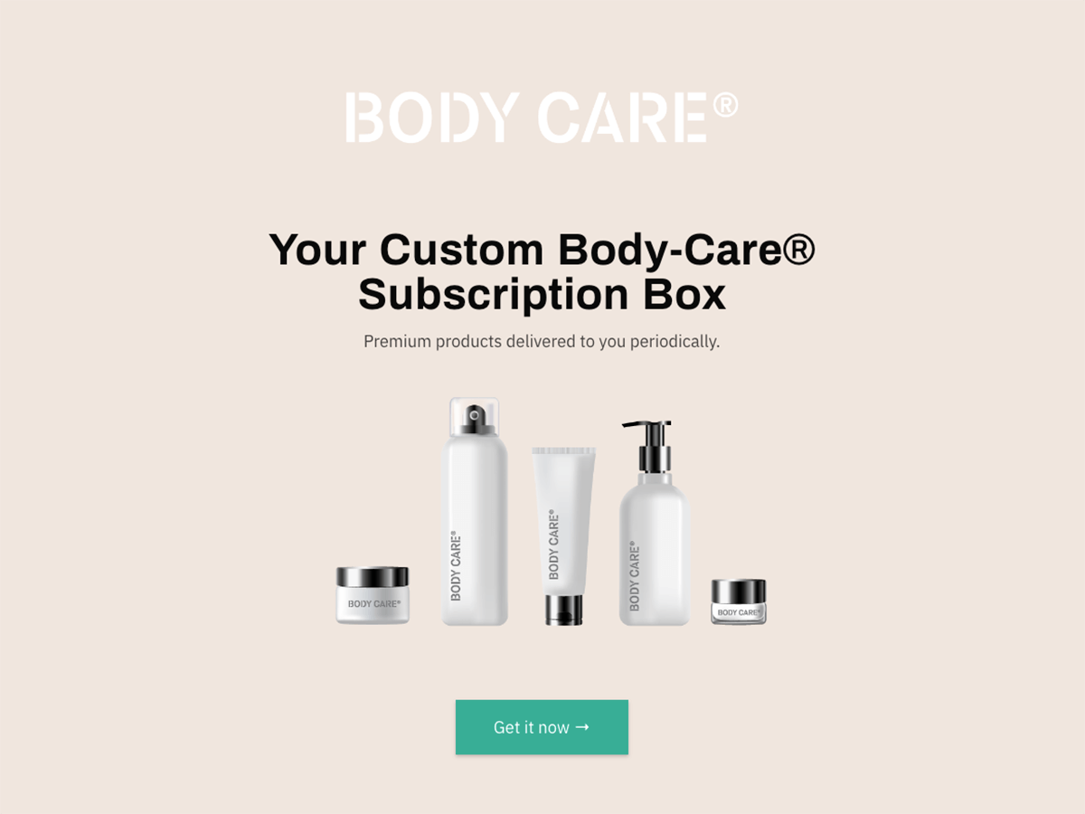 Body Care Subscription Box
